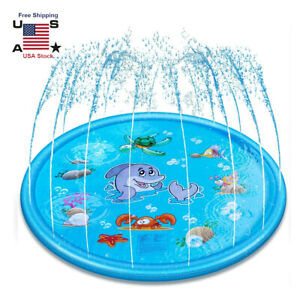 Splash Pad Sprinkler For Kids And Wading Pool Childrens Inflatable Water Toys Us