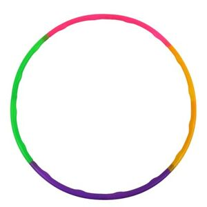 Detachable Kids Hula Hoola Hoop Adjustable Exercise Fitness Ring Toy Party Favor