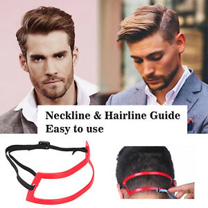 Neckline Hairline Guide Hair Trimming Shaving Template Self Cut Guide Tool X7l2