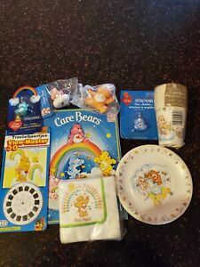 Care Bears Vintage Large Lot Of Party Supplies And Accessories - Mint In Package