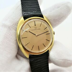 Universal Geneve,16k Electroplate Classic Round Thin, Rare! Mens Watch,20,l@@k