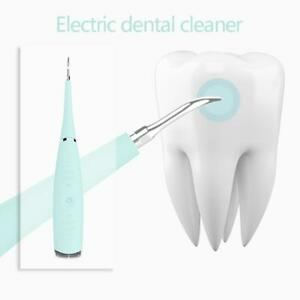 Ultrasonic Electric Tooth Cleaner Dental Calculus Remover Whitening Waterproof