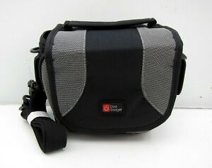 Duragadget Black & Grey Padded Protective Camera Carry Case For Nikon L340 Sony
