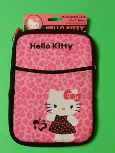 Hello Kitty Universal Tablet Case Fits 7