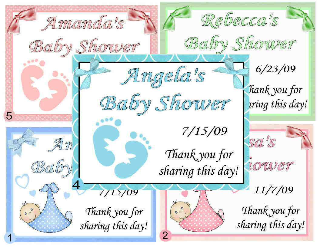15 Personalized Baby Shower Favors Magnets 1299 Picclick