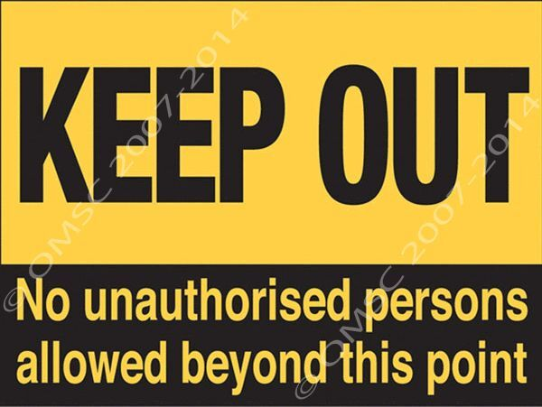 KEEP OUT METAL Sign Warning Kid Bedroom Door Hazard 4848 Awesome Keep Out Signs For Bedroom Doors