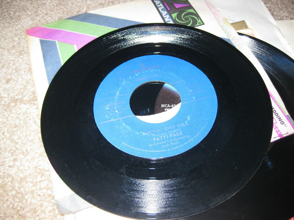 Patti Page; I Went to Your Wedding   on 45