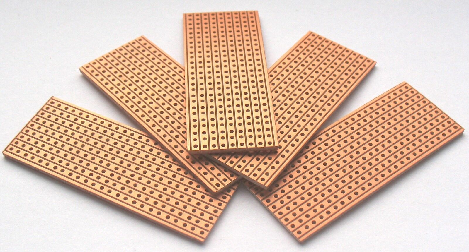 5 X Vero Type Strip Board Stripboard 25 64 Veroboard 139 Circuit Can Be Soldered On Small The Multivibrator 1 Of See More