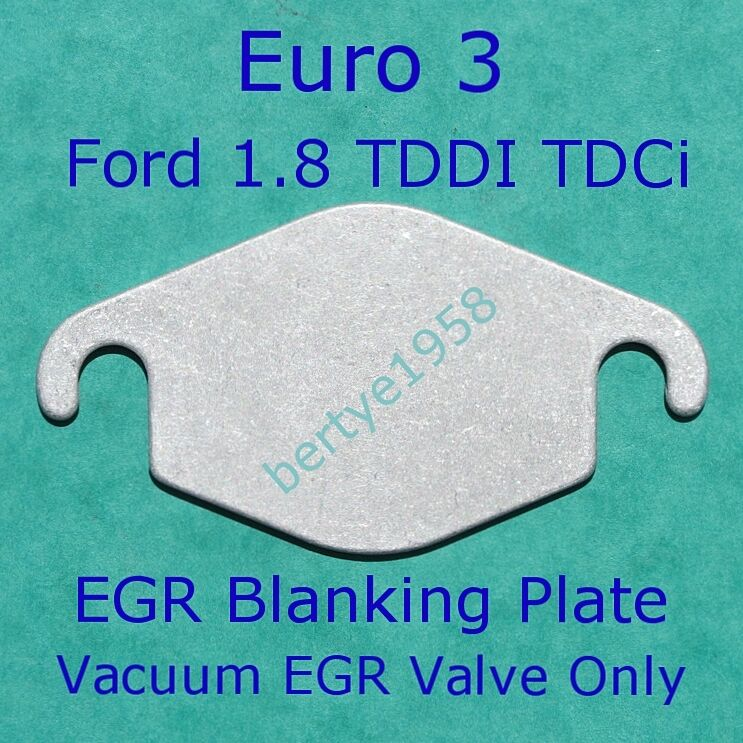 egr valve blanking plate ford focus mondeo connect 1 8 tddi tdci euro3 only a. Black Bedroom Furniture Sets. Home Design Ideas