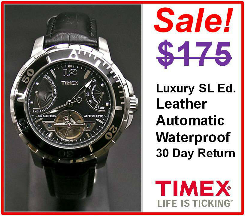 timex s sports luxury sl automatic chronograph dive