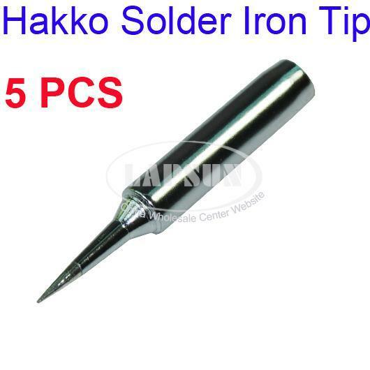 5pcs solder iron point tip for hakko soldering rework atten quick station t i au aud. Black Bedroom Furniture Sets. Home Design Ideas