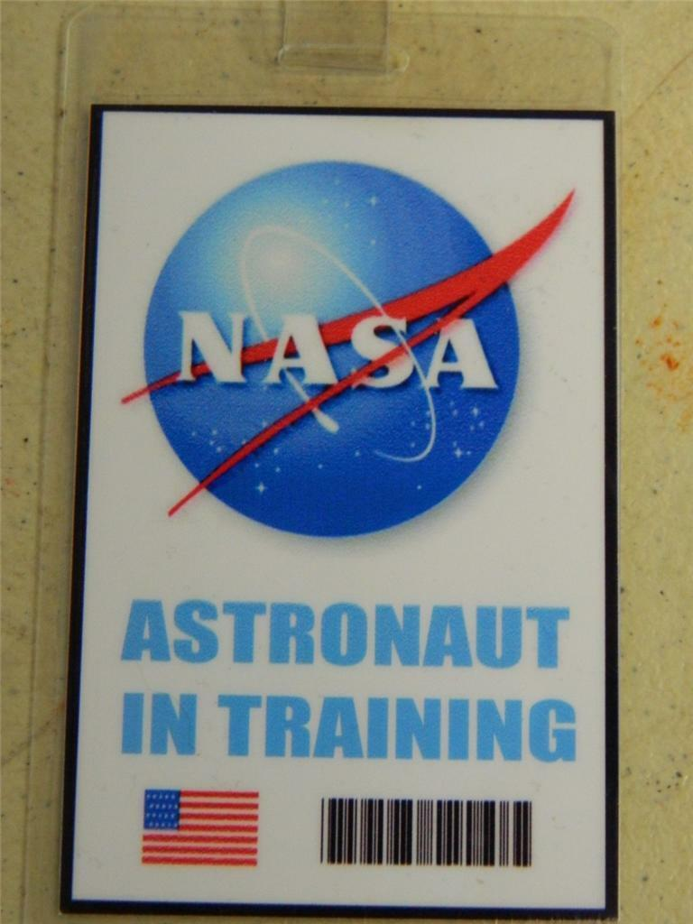 nasa id badge page 3 pics about space. Black Bedroom Furniture Sets. Home Design Ideas