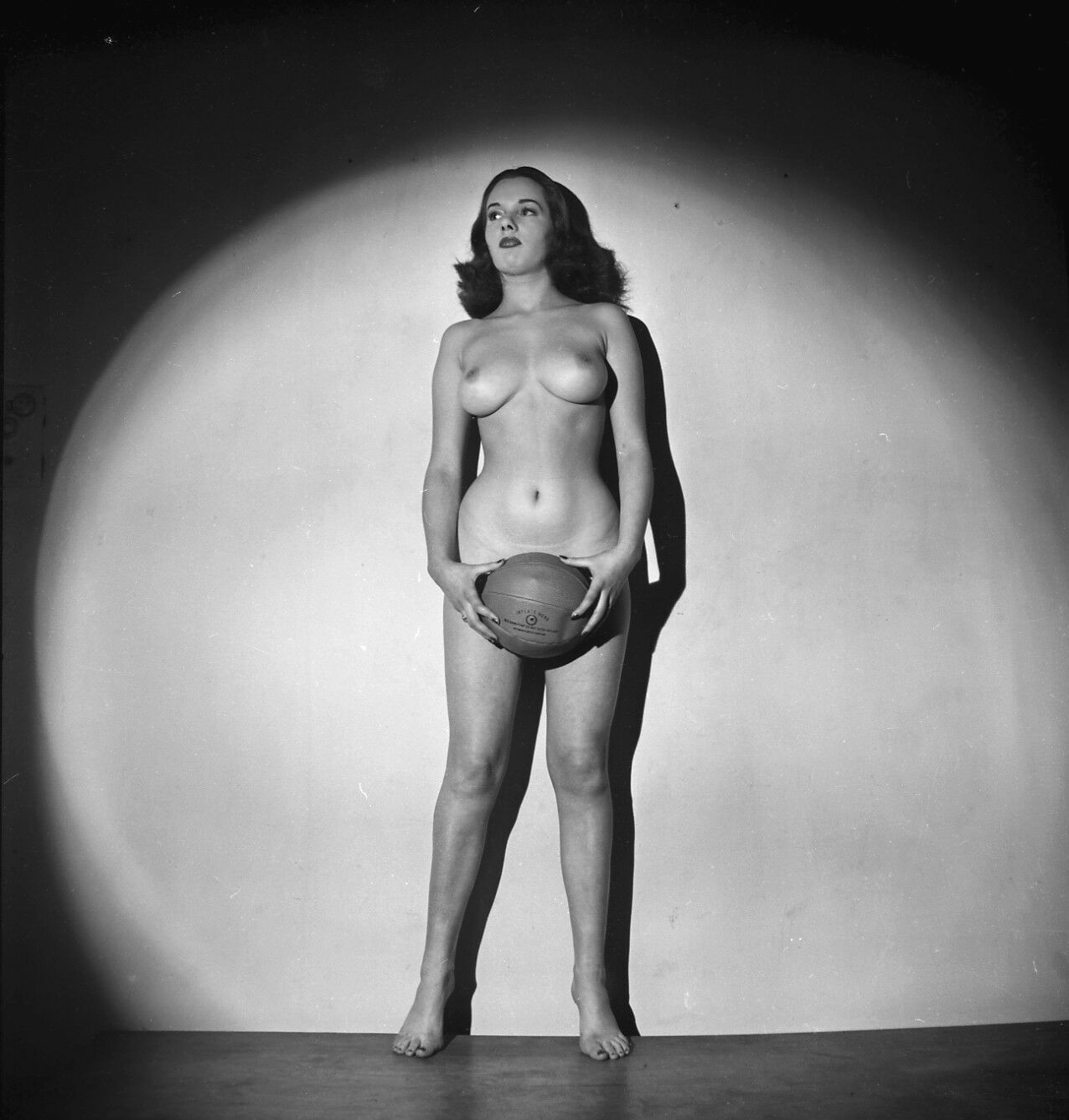 Vintage ODETTE Original B&W PIN-UP MODEL 120 Film Negative (NUDES)