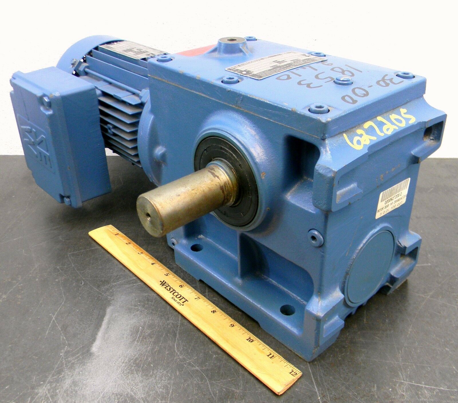 Sew Eurodrive Electric Gear Motor 1 Hp 3 Phase 230 460 Vac