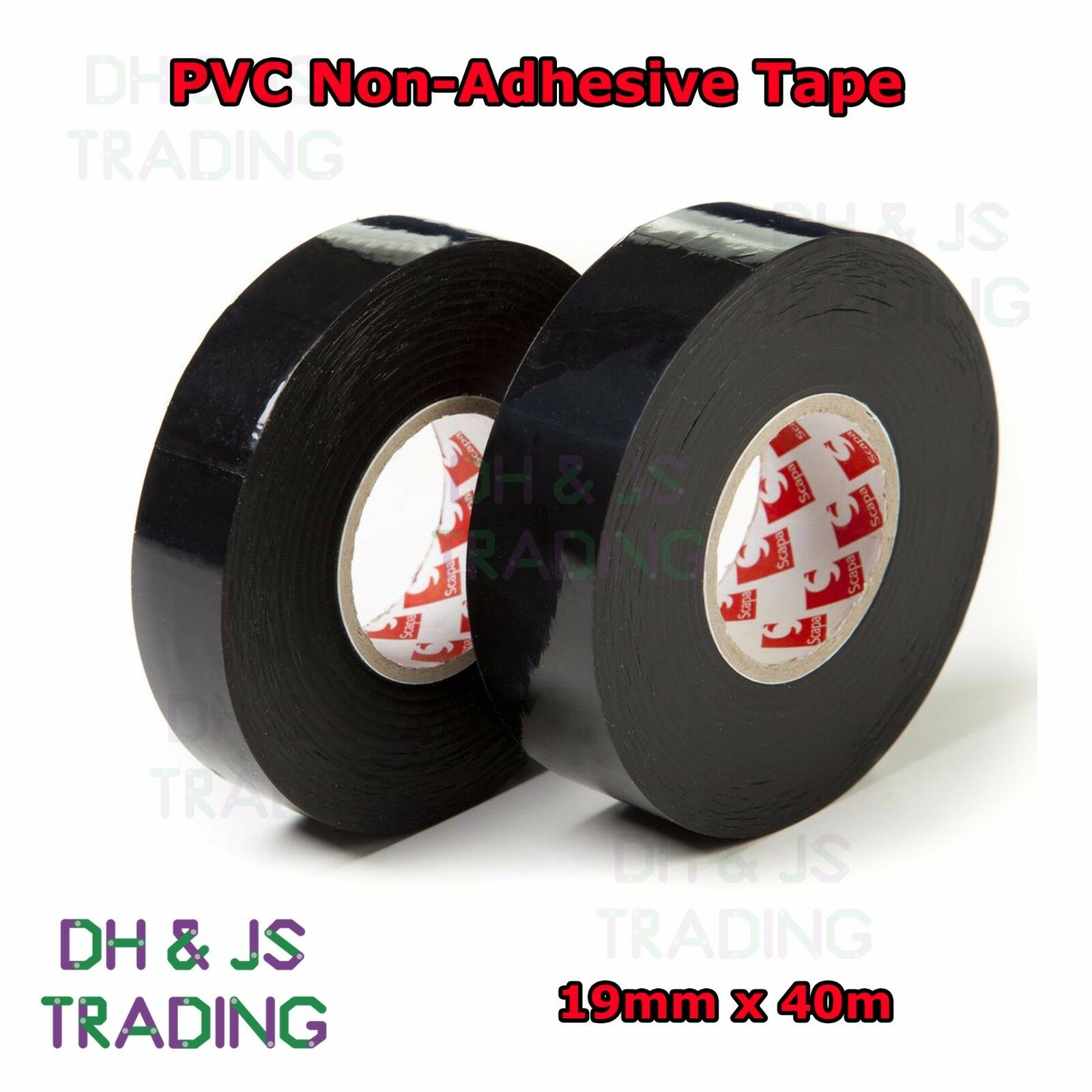 Wire Harness Tape 19mm Non Adhesive Pvc Wiring Loom Looming X 40m Roll 1 Of 1free Shipping See More