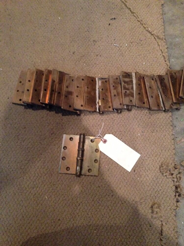 """Dh 223 20 Matching 41/2"""" X 4.5"""" Steel Hinges"""