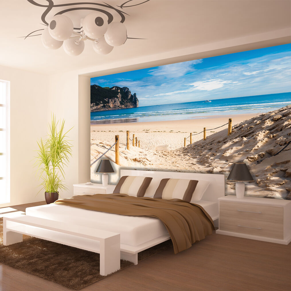 poster wandbild tapeten fototapete wasser meer strand sandstrand 3fx2281p8 eur 39 90 picclick de. Black Bedroom Furniture Sets. Home Design Ideas