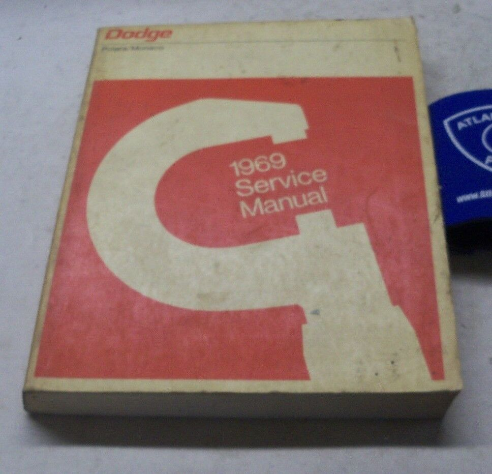 1969 Dodge Polaro Monaco Service Shop Repair Manual 1 of 1Only 1 available  ...