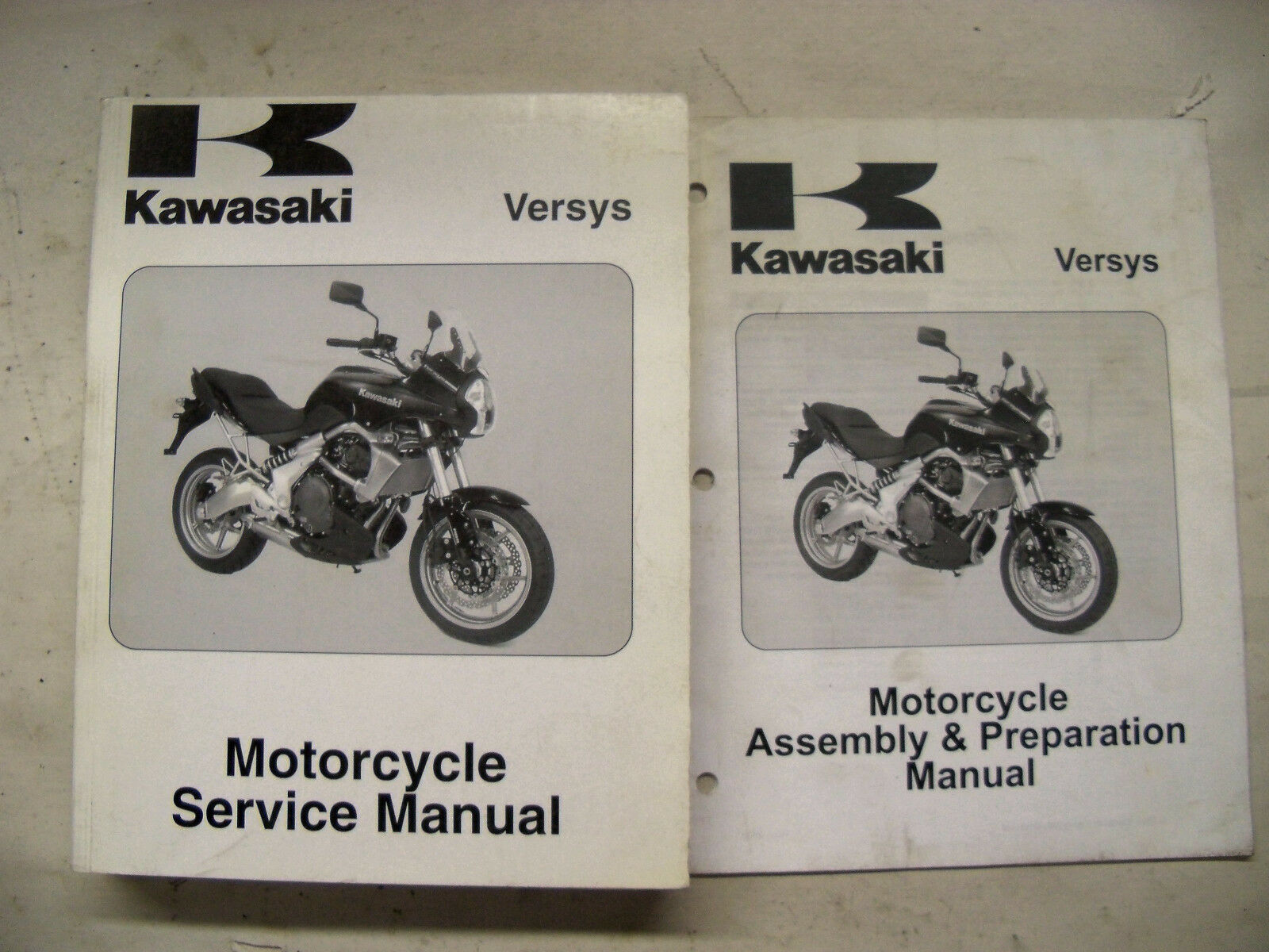 2007 2008 Kawasaki Versys Service Shop Manual Set 99924-1369-31 1 of 4Only 1  available ...