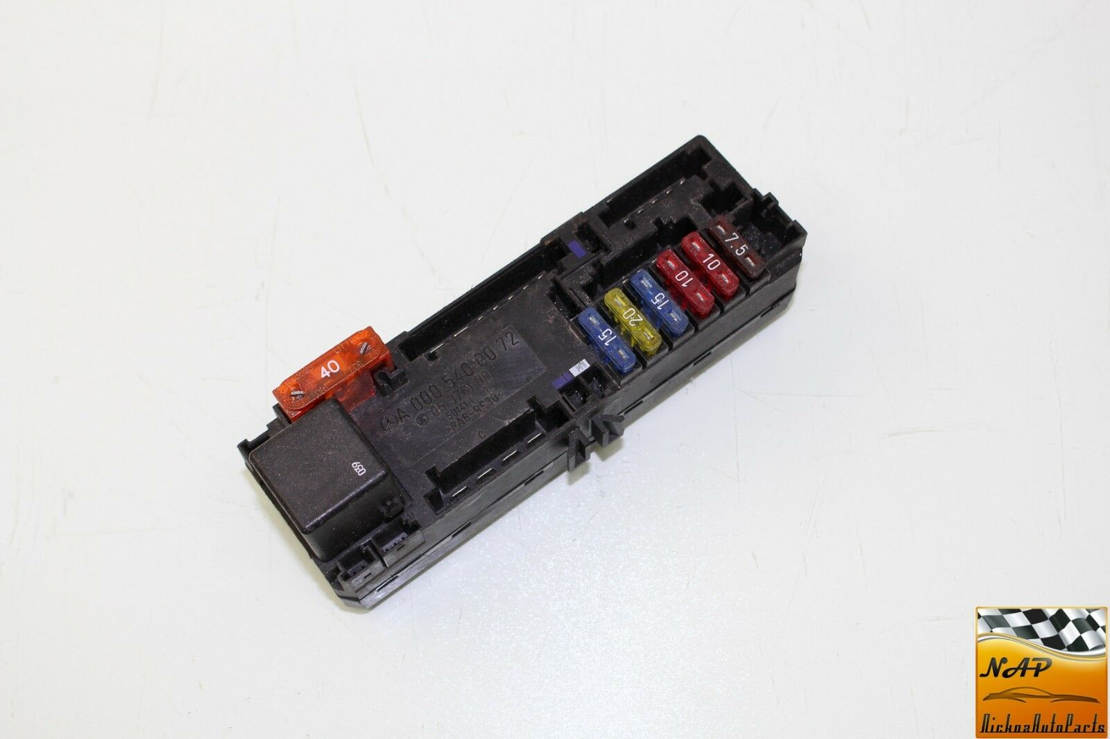 99 Mercedes Benz C280 W202 Fuse Relay Unit Box Oem 1 of 2Only 1 available  ...