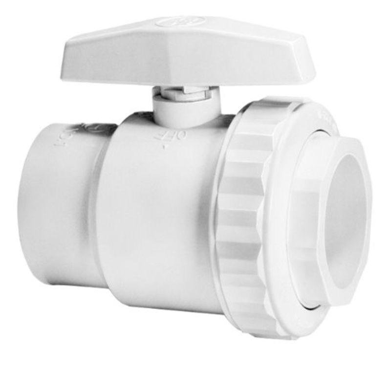 Hayward Pool Products Inc 1 Fpt 2way Abs Ball Valve Sp0722 Supplies Of 1free Shipping