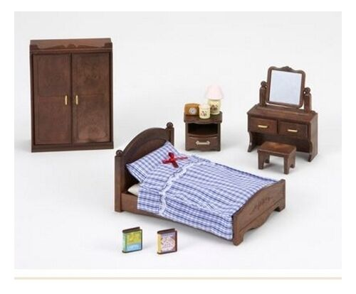 sylvanian families master bedroom furniture set 5039 19934 | sylvanian families master bedroom furniture set