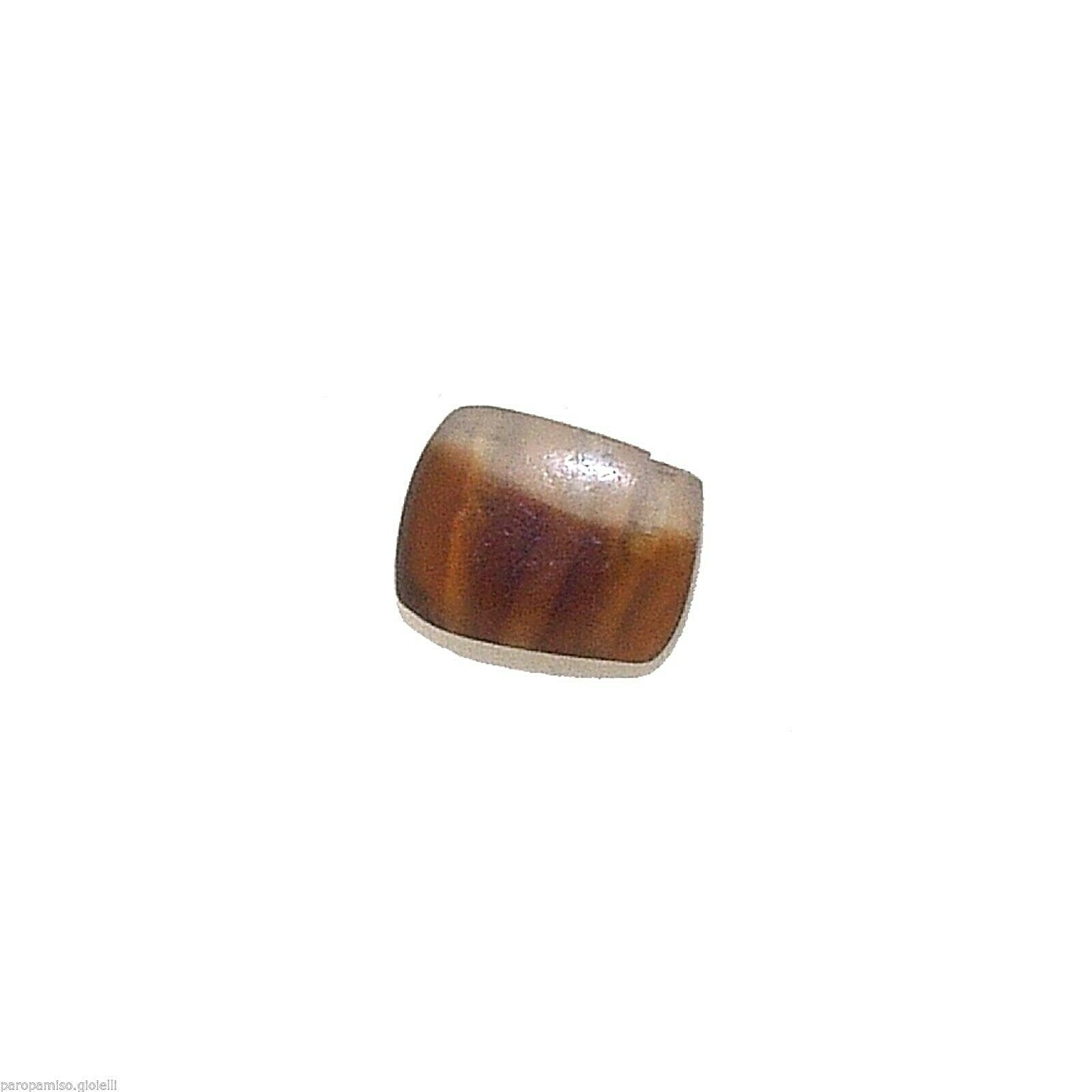 Bactrian Culture Banded Carnelian Agate Bead,   (0974)