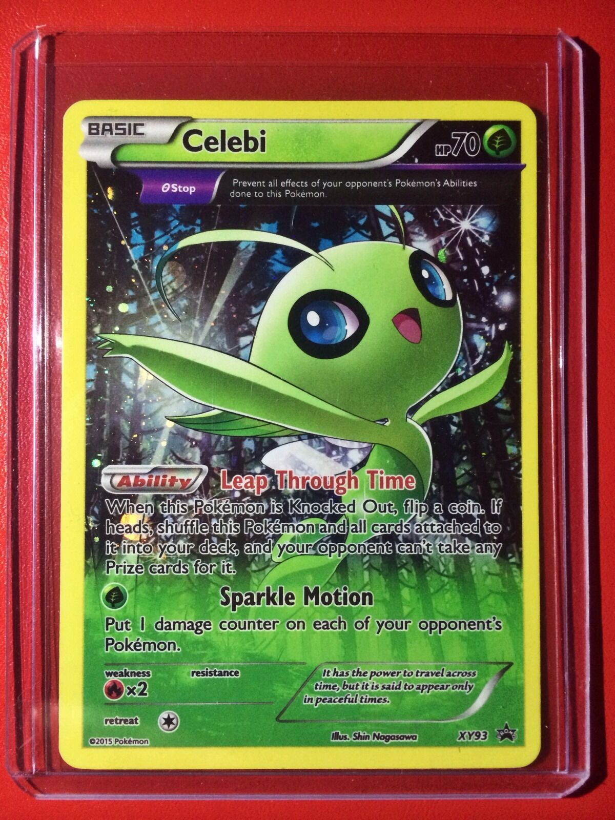 how to get celebi in black