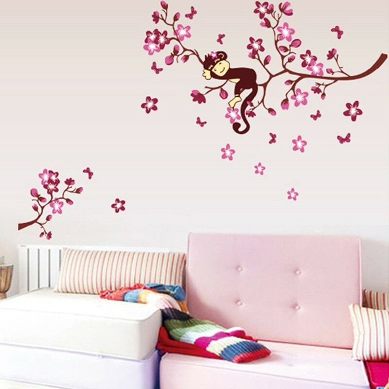 wandtattoo wandsticker aufkleber tiere kinder wald sticker. Black Bedroom Furniture Sets. Home Design Ideas