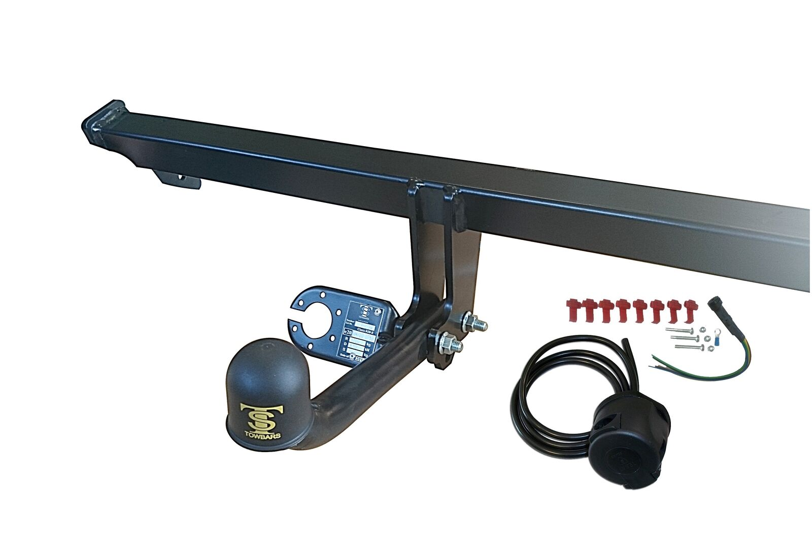Towbar Fixed Swan Neck For Opel Vauxhall Zafira B 05 11 7 Pin Tow Bar Wiring 1 Of 2only Available
