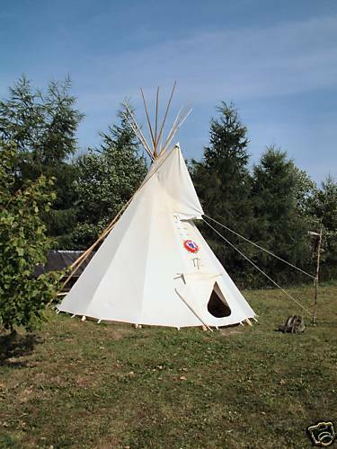 tipi plane indianerzelt indianertipi sioux tipizelt 5m chf picclick ch. Black Bedroom Furniture Sets. Home Design Ideas
