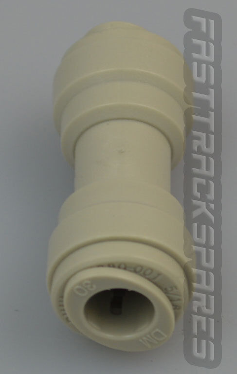 Genuine LG Refrigerator Water Filter Connector for Inline Hose 5/16 Inch