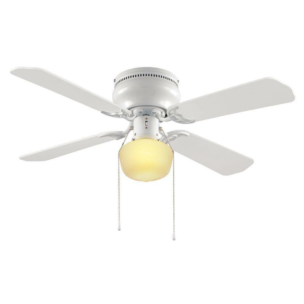 Hampton Bay Littleton 42 In White Ceiling Fan 2 Pack 1 Of 1only 3 Available