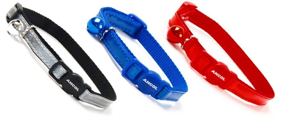 Reflective Cat Collar - Safety Buckle Feature - Well Made, Durable, Safe