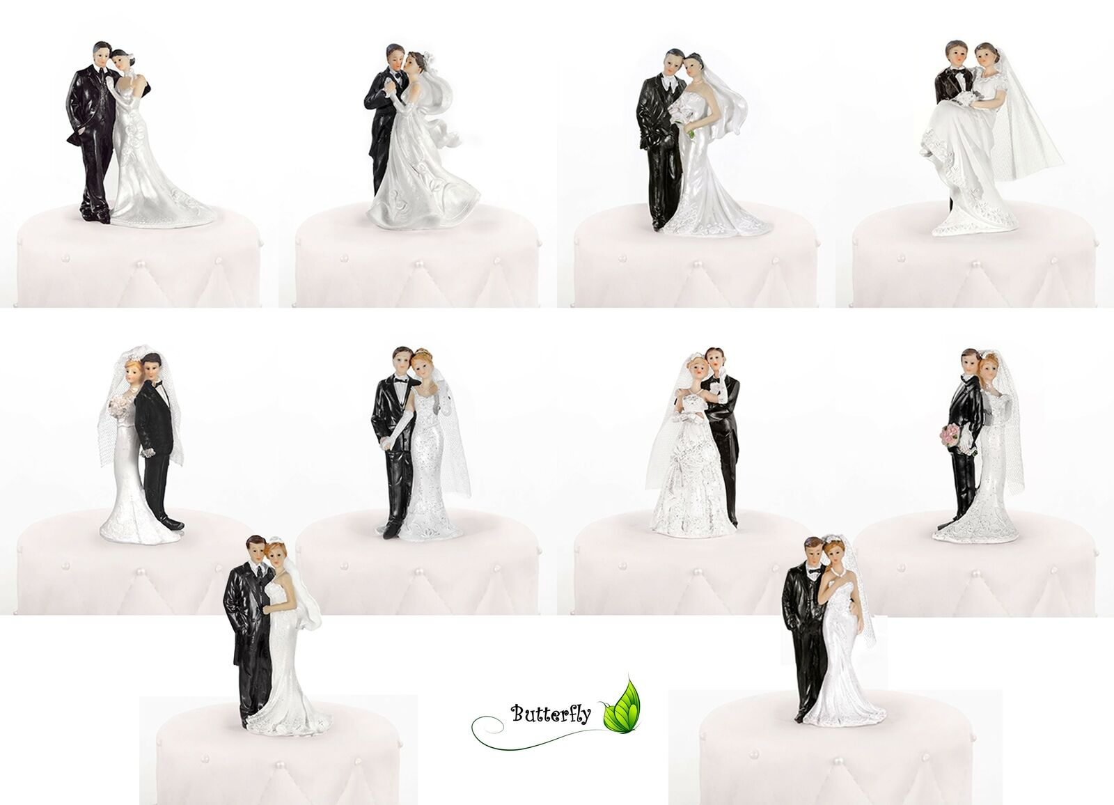 brautpaar 11cm figur tortenaufsatz hochzeit. Black Bedroom Furniture Sets. Home Design Ideas