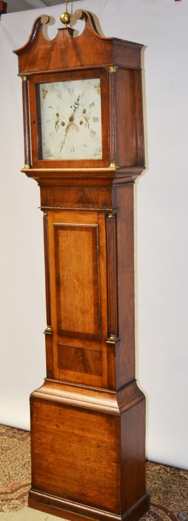 Antique Grandfather Clock for Restoration Project - FREE P&P [PL2254]