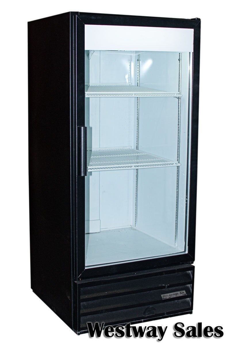 Beverage Air Mt 10 10 Cu Ft Glass Door Cooler Merchandiser Display