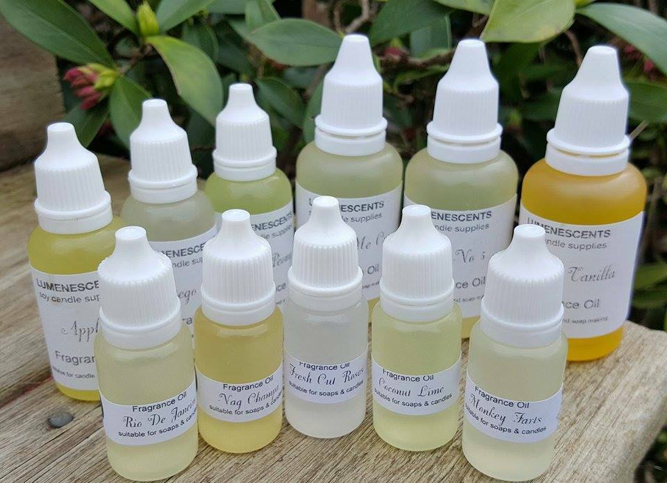 BULK PREMIUM QUALITY FRAGRANCE OILS for Candle and Soap making - 10, 20 & 30ml