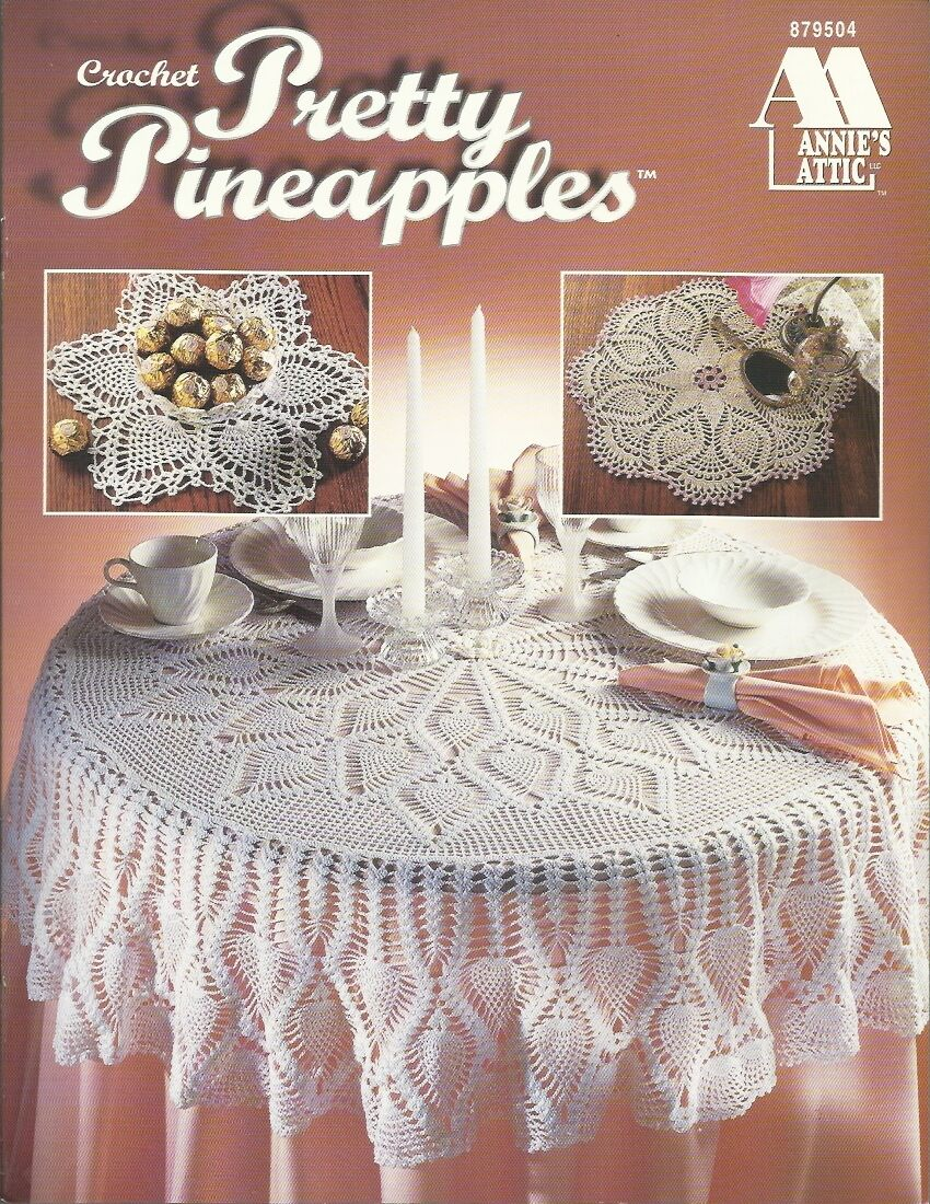 Annie Attic Crochet Free Patterns : ... Crochet Pattern Book Doilies Tablecloth Annies Attic NEW ? $19.95