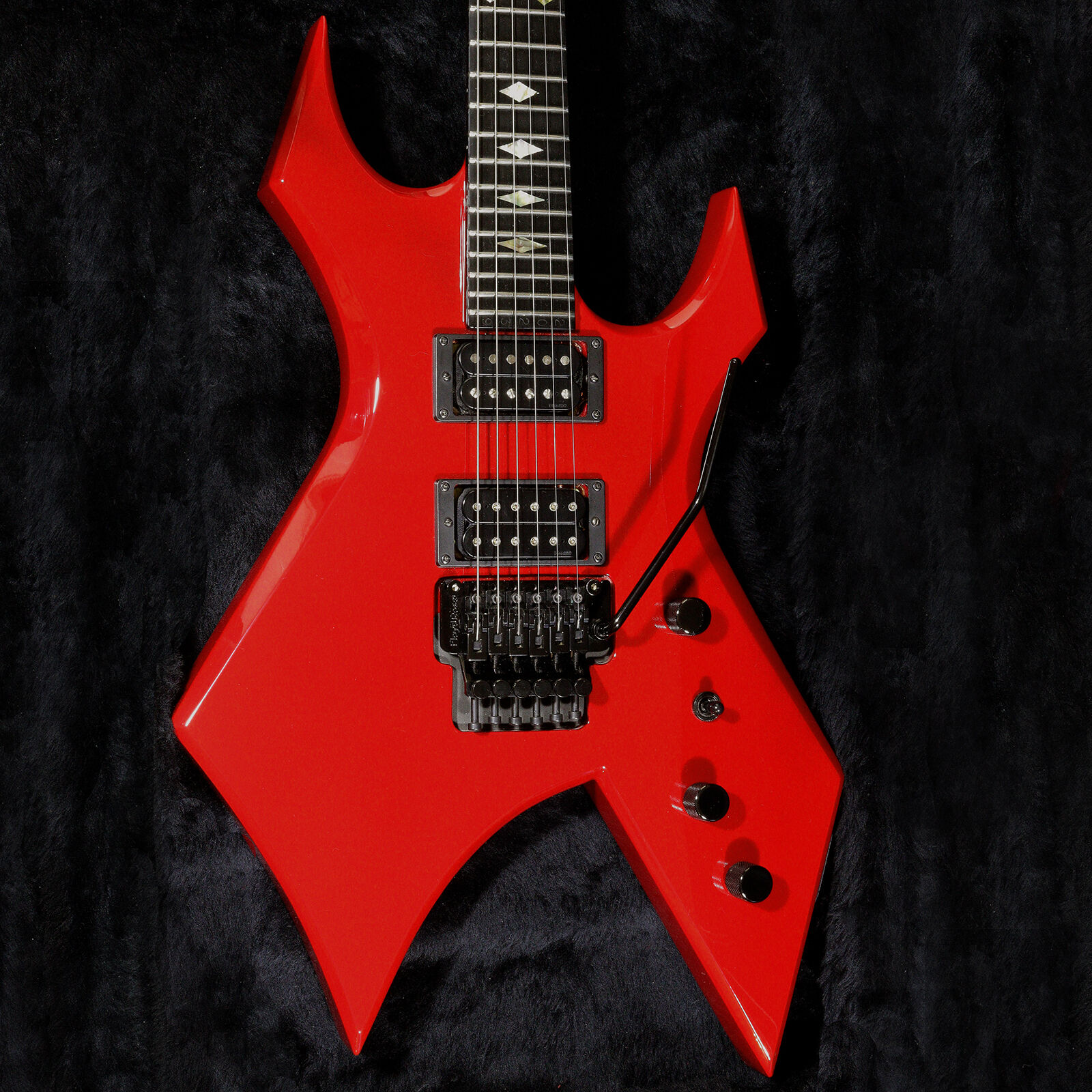 Bc Rich Warlock Red Electric Guitar Musicians Revenge Wiring Diagram Download