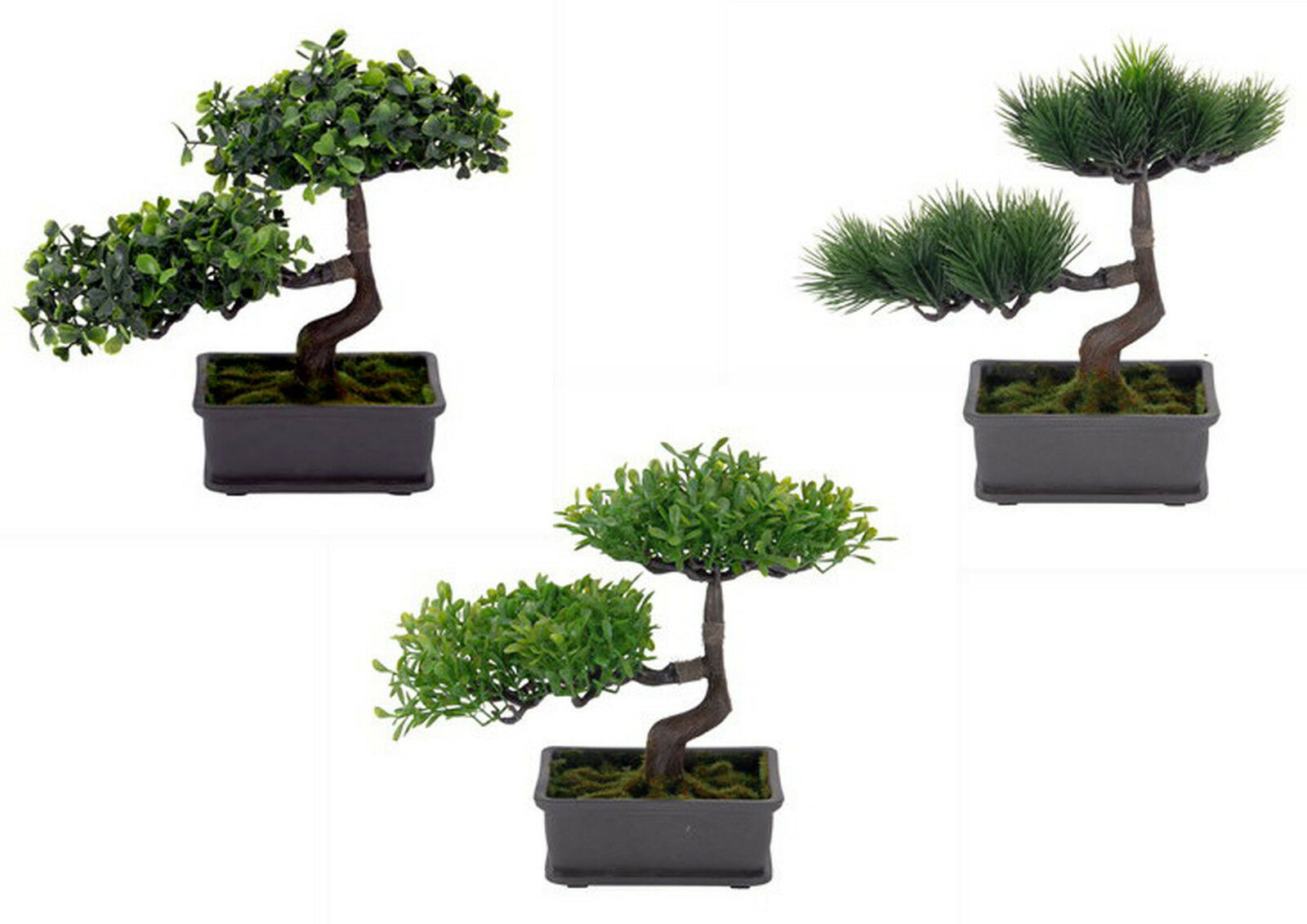 bonsai im topf kunstblume kunstpflanze lebensbaum bonsai. Black Bedroom Furniture Sets. Home Design Ideas
