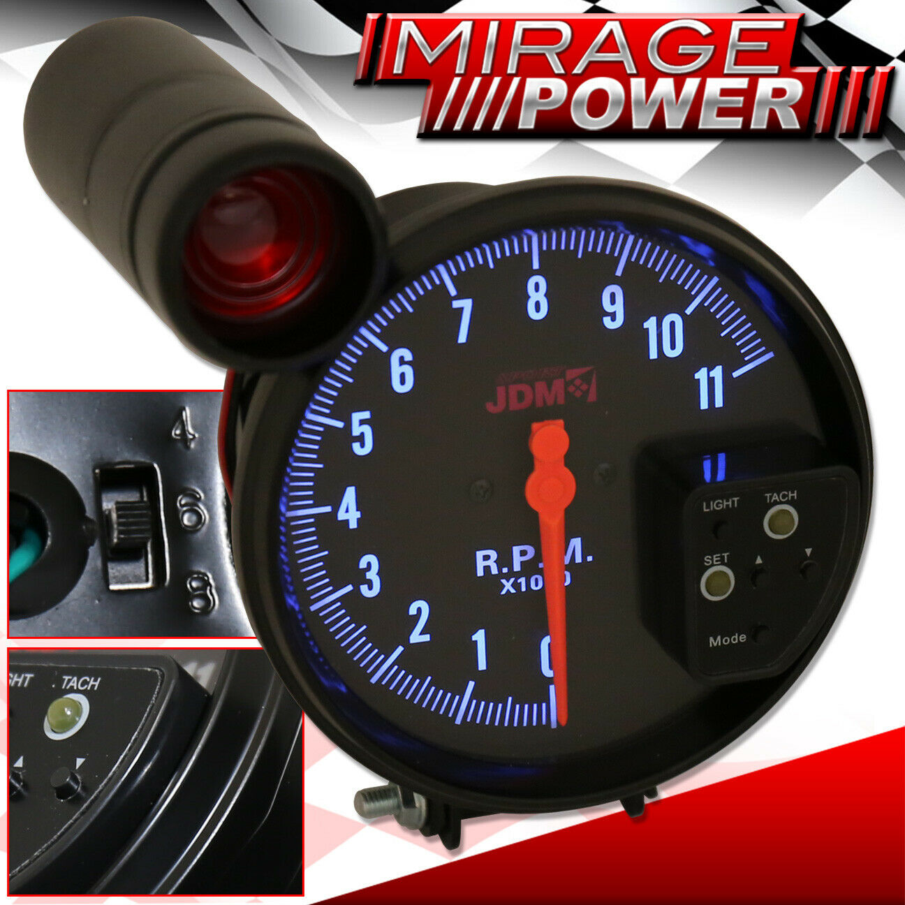Jdm Integra Sport Tachometer Wiring Diagram Electrical Super Tach 2 Library Of 5 All