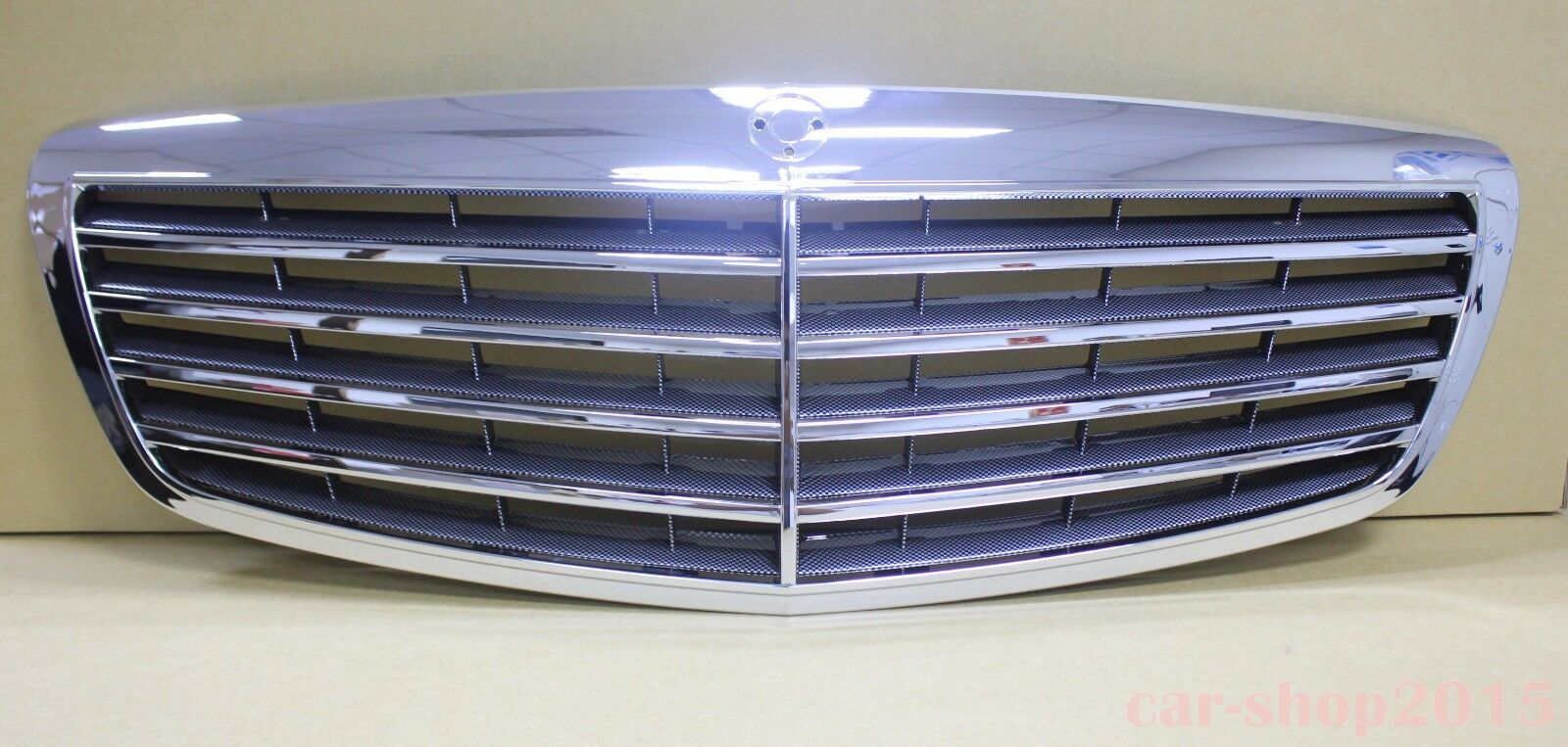 07 09 front grille mercedes benz s class w221 s550 s600 for Mercedes benz grille