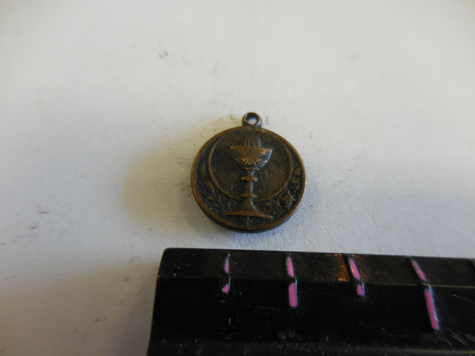 EIGHTH NATIONAL EUCHARISTIC CONGRESS NEW ORLEANS OCT. 1938  Charm / Pendant