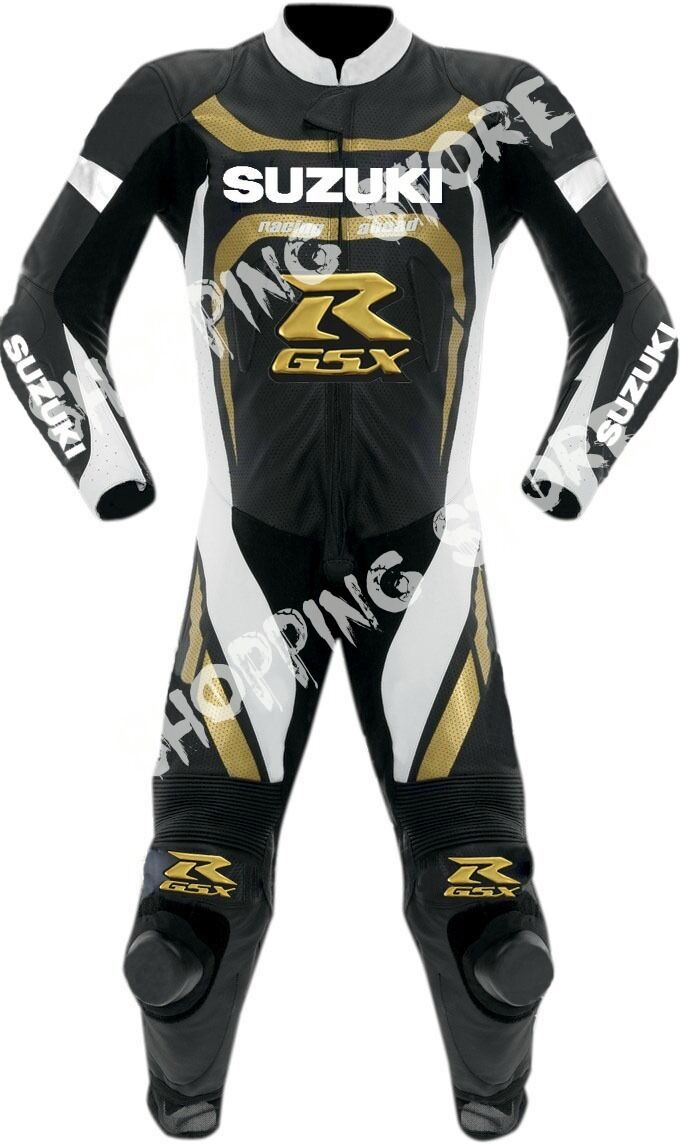 Suzuki Gsxr Leather Motorbike Leather Suit Motorcycle Leather Jacket Trouser