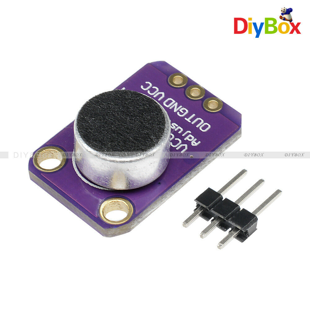 Adjustable Gy Max4466 Electret Microphone Amplifier With Gain For Arduino 1 Of 10only 5 Available See More