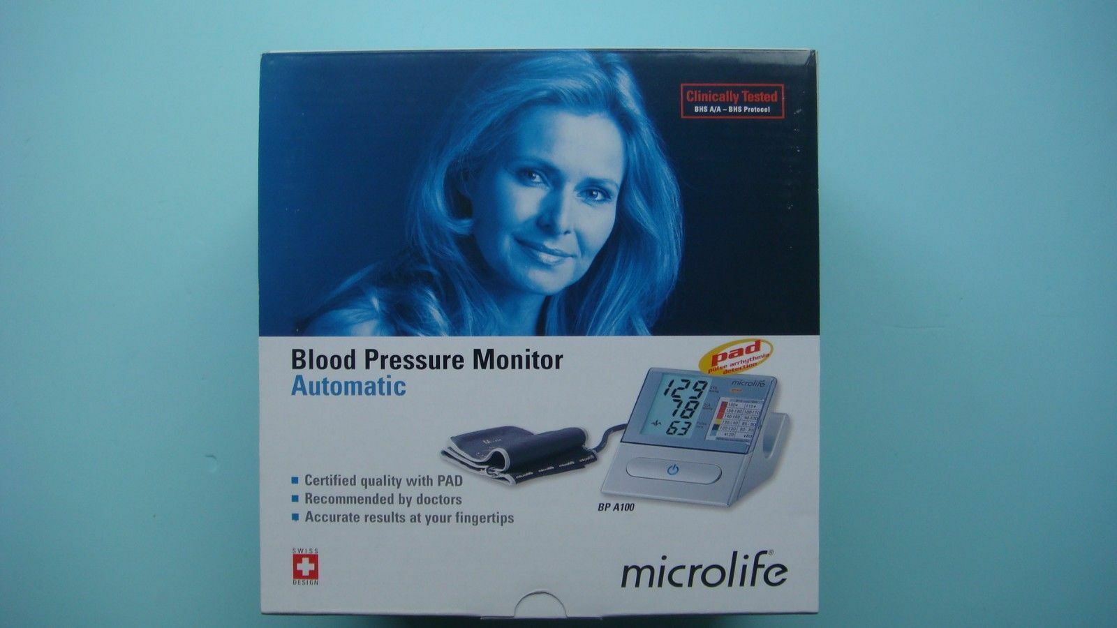 New Product Microlife Automatic Blood Pressure Monitor Bp A100 Termometer Digital Mt 200 1 Of 1only 3 Available