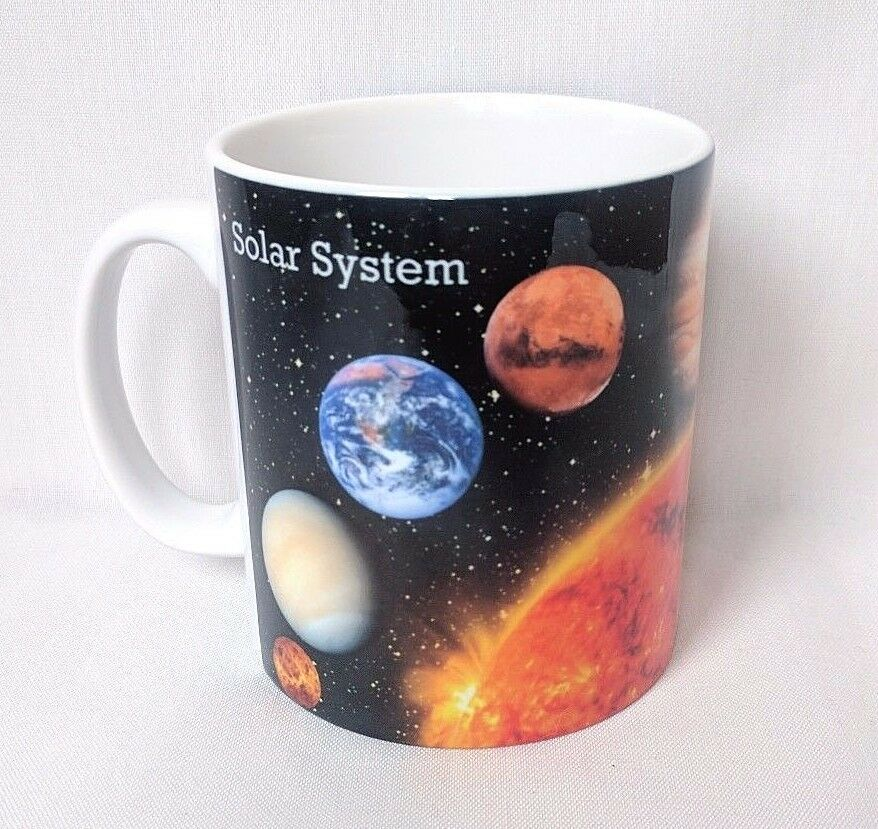 Solar System E Astronomy Gift Ideas Planets Coffee Mug Cup Gift 1 Of 5only 1 Available