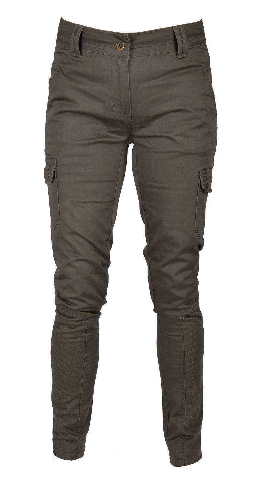 iwea damen cargo hose lang jeans hose dark khaki iw050 eur 13 98 picclick de. Black Bedroom Furniture Sets. Home Design Ideas