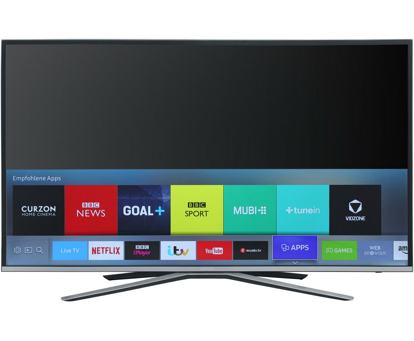 samsung ue55ku6409uxzg 4k uhd led fernseher 138 cm 55 zoll silber eur 949 00 picclick de. Black Bedroom Furniture Sets. Home Design Ideas